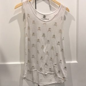 Preowned Soulcycle Skull Tank Size Medium